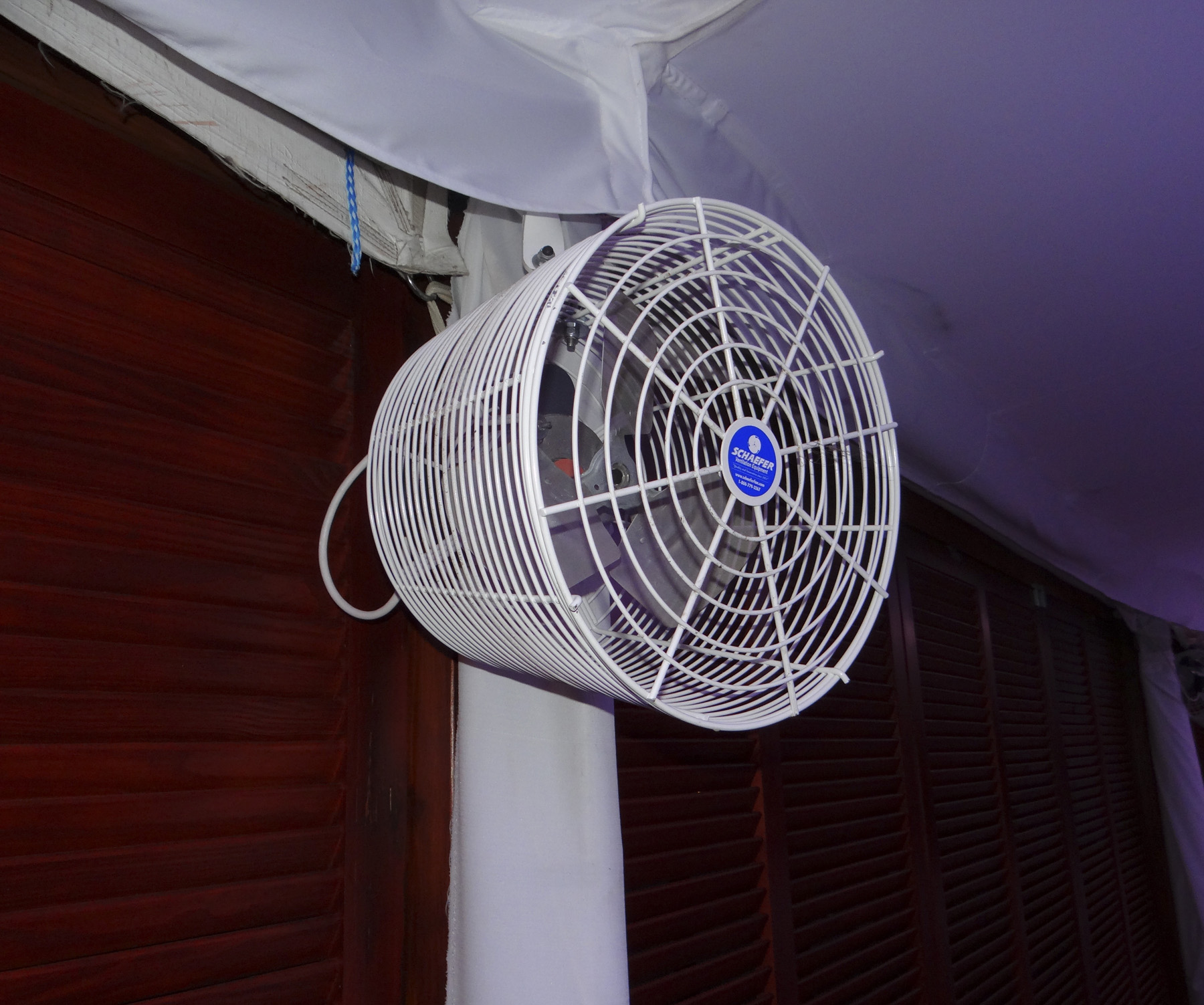 Sport Misting Fan : Tent fan quot available with misting ring in fans