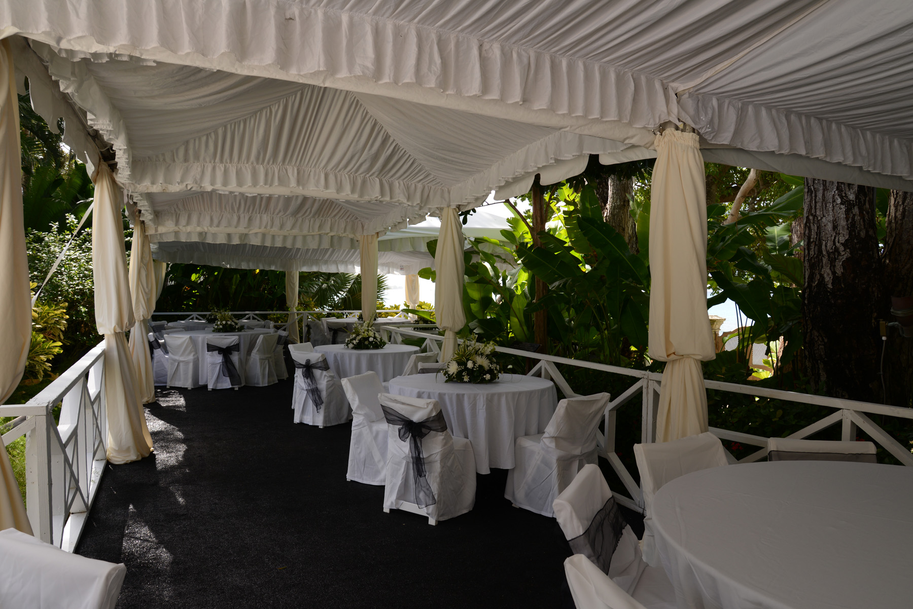 Tents For Walkways Or Canopies In Tents At Ellco Rentals