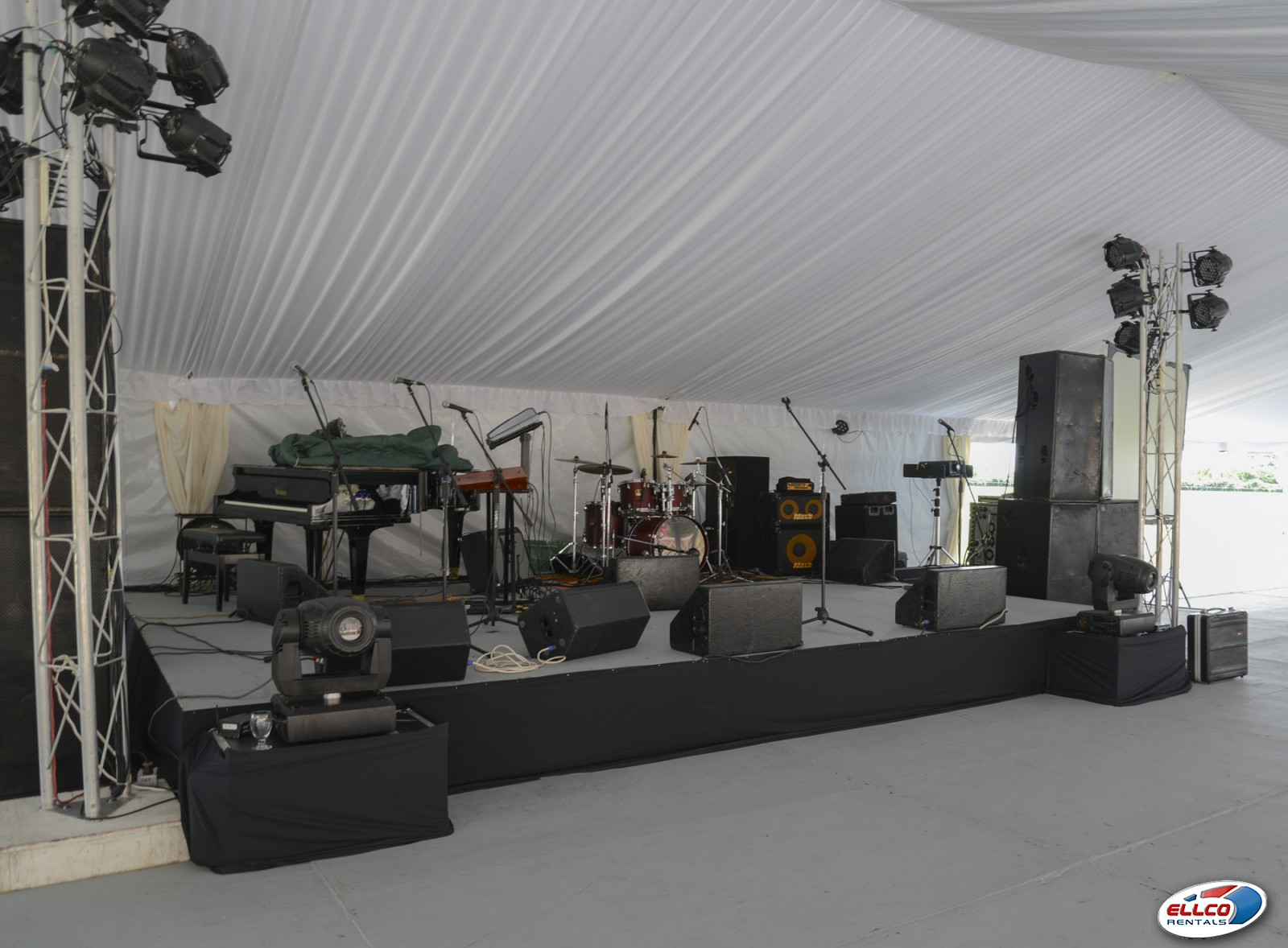 Staging Built To Order In At Ellco Rentals Event