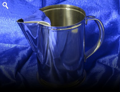 Water Pitcher - Stainless Steel