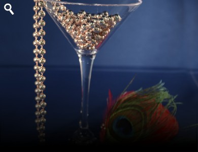 Acrylic Martini Glass 8Oz