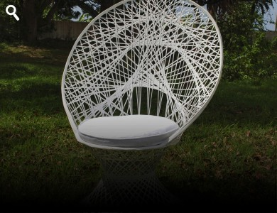 Bridal Fan Back Chairs
