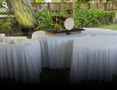 Serpentine Buffet Tables